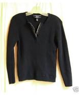 Jones Wear Sport ribbed Navy Jersey with Zip neck Lg. - $5.00