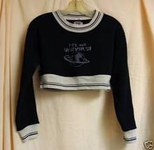 It's Our Universe Crop Sweatshirt -M - $10.00