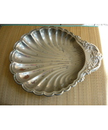 Leonard Silverplate Lg. Deco Shell Tray  - $10.00
