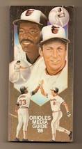 1986 Baltimore Orioles media Guide MLB Baseball - $18.70