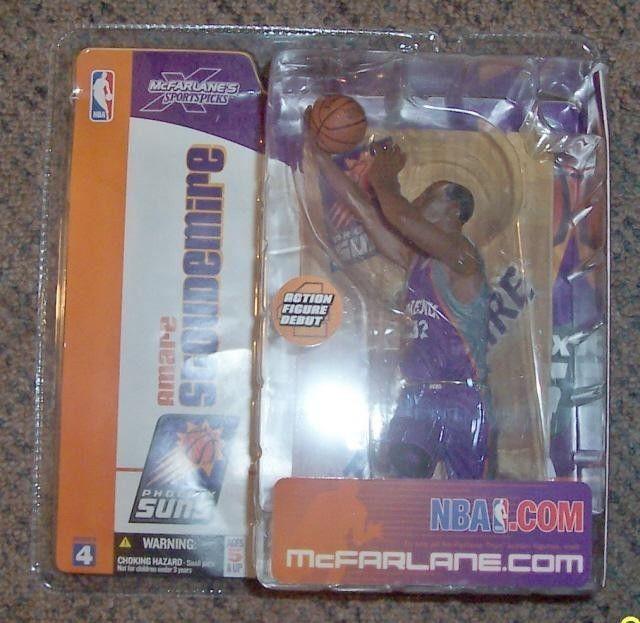 Mcfarlane NBA Series 4 Amare Stoduemire Purple Variant Action Figure VHTF RARE