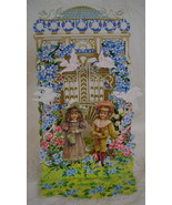 Reproduction Victorian Birthday Card - $5.00