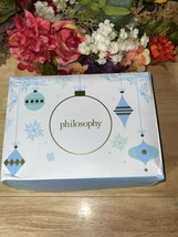 4 Piece Philosophy Boxed Gift Set Body Gel-Facial Cleanser-Mask-Moisturizer NEW - $31.68