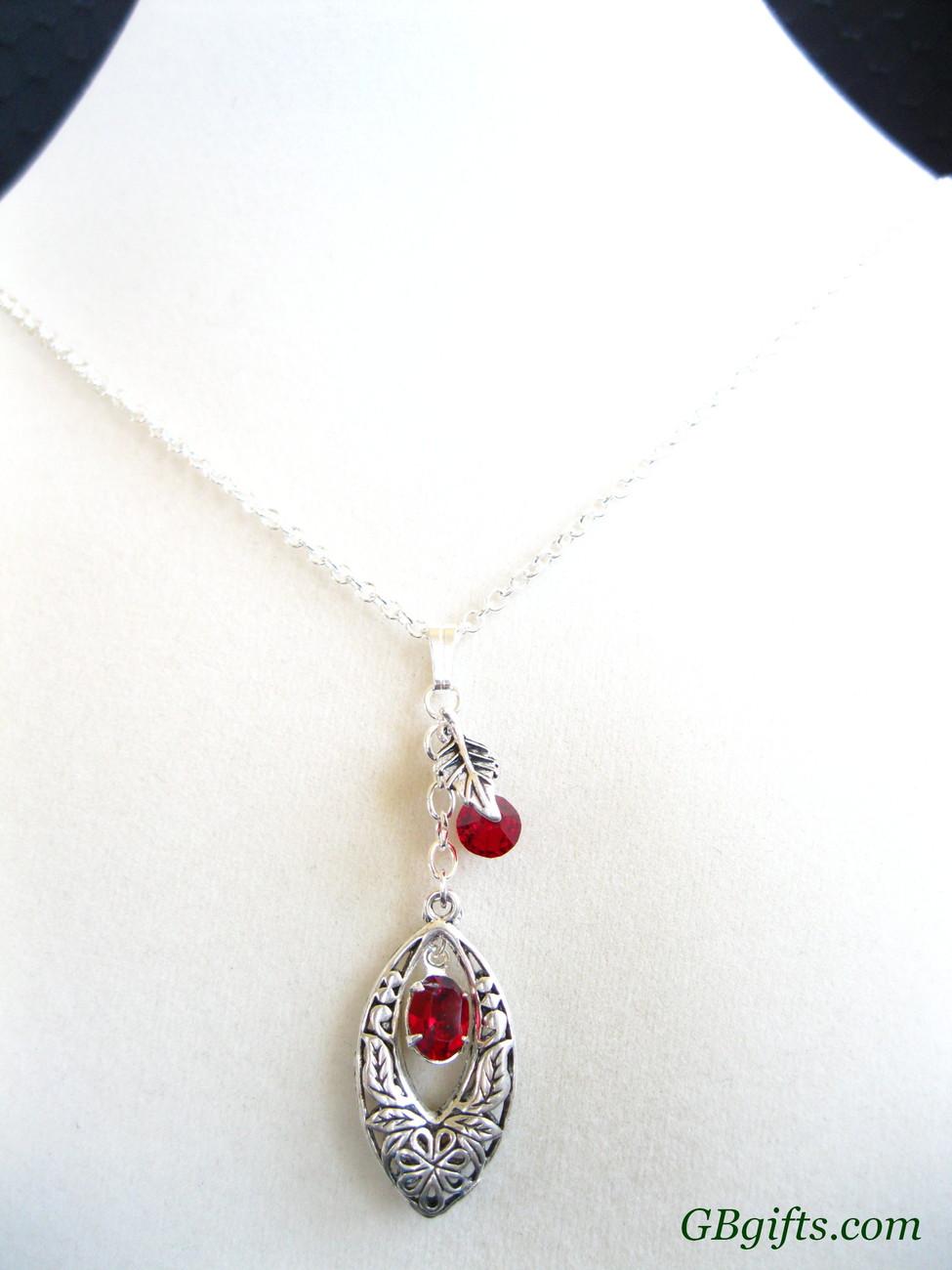 Swarovski crystal earrings w/ Sterling silver french hook.  #ES2800004