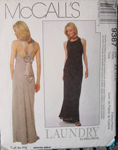 Pattern 9387 Long Dress sizes Misses 4,6,8 - $6.99
