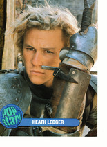 Heath Ledger teen magazine pinup clipping armor Knights Tale