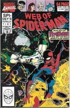 Web of Spider-Man Comic Book Annual #6 Marvel 1990 FINE - $1.99