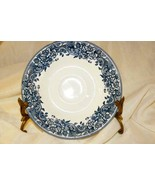 Staffordshire 2006 Engravings #9507 17th Century Blue Saucer - $2.51