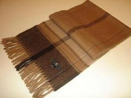Brown shawl,wrap made of  pure Babyalpaca wool  - $58.00