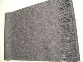 Grey scarf, shawl made with pure Babyalpaca wool  - $69.00