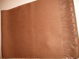 Brown scarf,shawl made of pure Babyalpaca wool  - $62.40