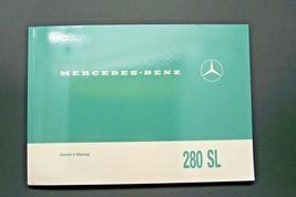 1969 Mercedes 280SL Pagoda Owners Manual 280SL W 113 Parts Service W113 - $247.49