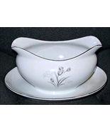 ROYAL ELEGANCE Gravy Sauce Boat Creative Fine Porcelain Vintage Dinnerwa... - $9.95