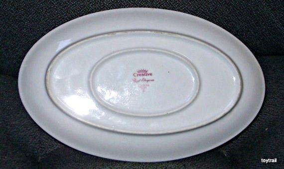 ROYAL ELEGANCE Gravy Sauce Boat Creative Fine Porcelain Vintage Dinnerware Japan
