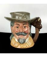 Vintage 1984 Buffalo Bill Toby Mug Jug Royal Doulton Wild West England Gift - $97.01