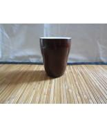 A Starbucks Brown Aida Coffee Tea Cup No Handle 8oz 2008 Ceramic Mug - $14.99