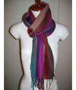 Light Scarf, shawl made of  babyalpaca wool and silk - $81.90