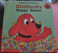 Norman Bridwell SIGNED Book - Clifford The Big Red Dog Clifford's Happy ... - $25.00