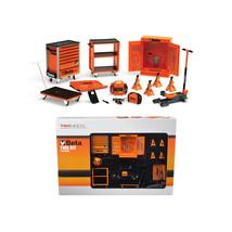 Beta Garage Mechanic Accessory Tools 13pc Tool Kit Set For 1/18 Scale Di... - $81.46