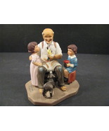 Norman Rockwell Figurine Americana The Toymaker Limited Edition - $10.99