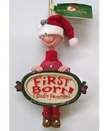 Favorite Child Ornament (First Born Boy Dad) - £12.26 GBP