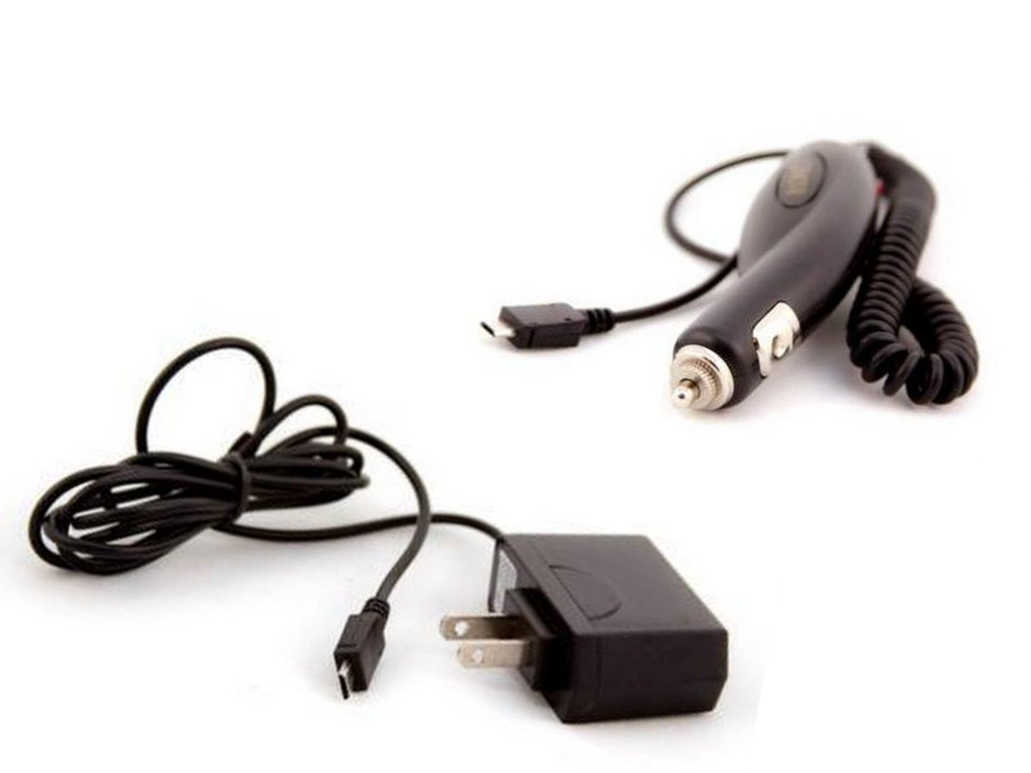 2 pc NEW AT&T LG Quantum C900 WALL CHARGER & CAR CHARGER