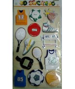 3D Handmade Sports Stickers For ages 3+ - $2.96