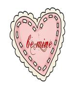 Be Mine Pink Heart10-Digital Download-ClipArt-A... - $3.00