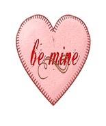 Be Mine Pink Heart11-Digital Download-ClipArt-A... - $3.00