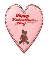 Happy Valentines Day Heart Bear1-Digital Download-ClipArt-ArtClip - $4.00