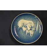 1987  BING & GRONDAHL B&G MOTHER'S DAY PLATE SHEEP & LAMB - $39.00