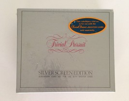 Trivial Pursuit Silver Screen Edition Subsidiary Card Game Set 1981 NEW ... - $21.28