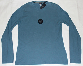 $125 ARMANI JEANS LONG SLEEVE PULLOVER WITH AJ LOGO & BACK GRAPHICS NWT - $45.00