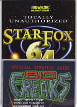 Vintage BioFreaks StarFox Brady Games set of two (2) RARE Gamer Strategy... - $39.00
