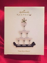 "2006 Hallmark ""Time for a Party!"" Ornament - Martini Glass - Social Even... - $12.82"
