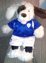 Build A Bear Plush Dog with Soccer Outfit with ... - $13.00
