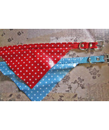 "bandana collars - mixed colors dog pet collar 10.5 - 13""  - $0.00"