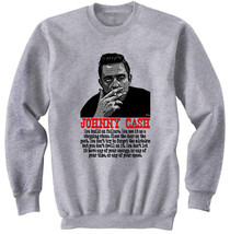 Johnny Cash 2   New Cotton Grey Sweatshirt  S M L Xl Xxl - $32.38