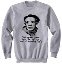 Pablo Picasso   New Cotton Grey Sweatshirt  S M L Xl Xxl - $47.42