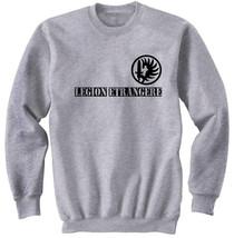 French Legion Etrangere 1   New Cotton Grey Sweatshirt  S M L Xl Xxl - $34.38