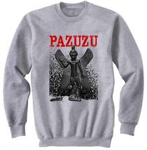 PAZUZU EVIL SPIRIT - NEW COTTON GREY SWEATSHIRT- S-M-L-XL-XXL - $47.42