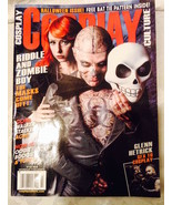 COSPLAY CULTURE Magazine Issue #23— HALLOWEEN 2015 ISSUE! Riddle & Zombi... - $5.93