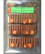 Lemax Spooky Town Halloween Pumpkin Wire Wooden... - $5.99