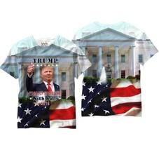 Donald Trump Someone con Palline President USA Uomo Sublimazione Camicia - $20.91+