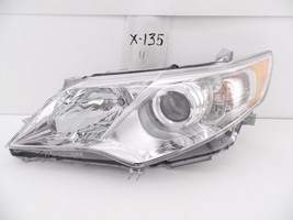 Oem Head Light Headlight Lamp Toyota Camry 12 13 14 Headlamp Chrome Chip Mount - $74.25