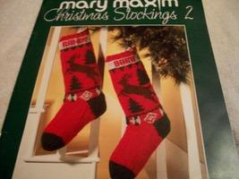 Knitting: Christmas Stockings 2 - $32.00