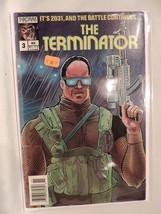 #3 The Terminator 1988 Now Comics C367 - $3.33