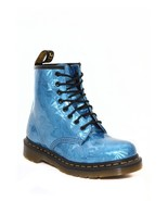 NEW Dr. Martens Sapphire Jewel 8-Eye Zip Boots Hot Topic Punk Cyber Stea... - $499.00