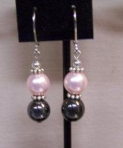 Bead Pearl Earrings - $6.00