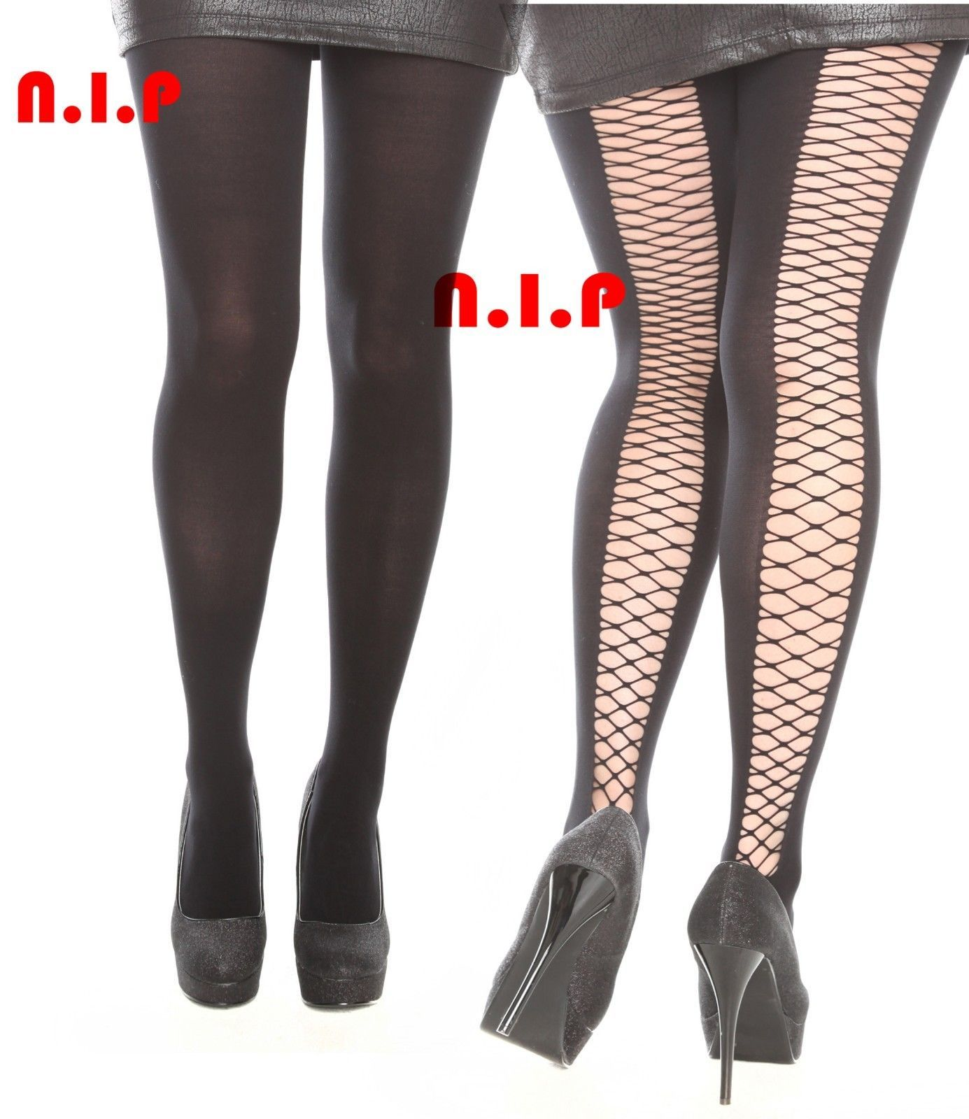 Cutout Goth Fishnet Caged Open Crisscross back Punk Pantyhose Stockings Tights - $78.00